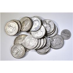$6 FACE VALUE 90% SILVER- MIXED 10c, 25c, & 50c