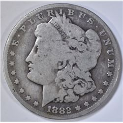 1882-CC MORGAN DOLLAR