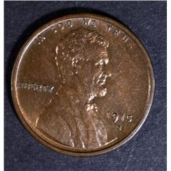 1915-S LINCOLN CENT CH BU RB