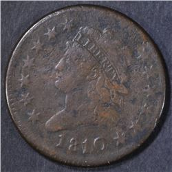1810/09 LARGE CENT  VF