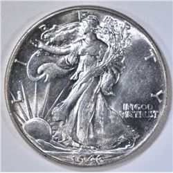1946 WALKING LIBERTY HALF DOLLAR  BU