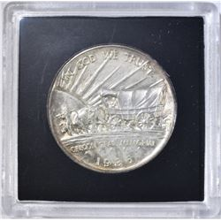 1936-S OREGON TRAIL COMMEM HALF DOLLAR  BU