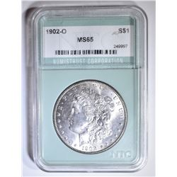 1902-O MORGAN DOLLAR  NTC GEM BU
