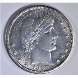 1893-O BARBER HALF DOLLAR  BU