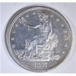 1877-S TRADE DOLLAR  BU
