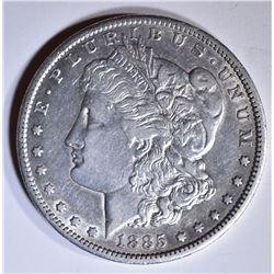 1885-CC MORGAN DOLLAR  XF