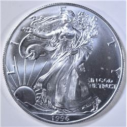 BU 1996 AMERICAN SILVER EAGLE BETTER DATE