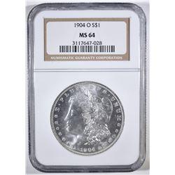 1904-O MORGAN DOLLAR NGC MS-64