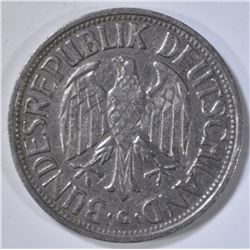 1955-G 1 DEUTSCHE MARK  SCARCE COIN