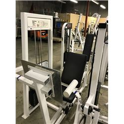 APEX SEATED LEG PRESS  STATION