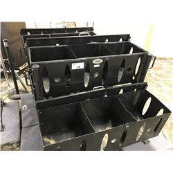 BLACKS 6 COMPARTMENT STORAGE UNIT