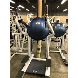 LIFE FITNESS BOSU BALL LEG LIFT STATION