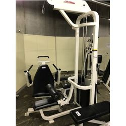 LIFE FITNESS LAT PULLDOWN STATION