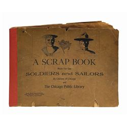Walt Disney's Personal WWI Sketchbook with Drawings.