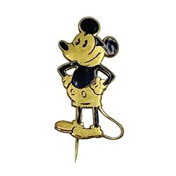 Mickey Mouse Enamel Pin by Charles Horner.