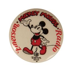 Emerson Mickey Mouse Radio Pin.