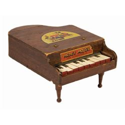 Mickey Mouse Toy Grand Piano.