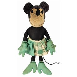 Minnie Mouse Charlotte Clark Style Doll.
