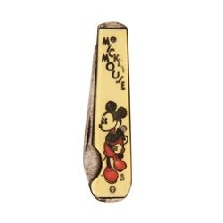 Mickey Mouse Pocket Knife.