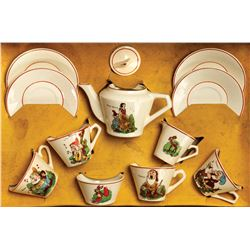 Snow White and the Seven Dwarfs Tea Set.