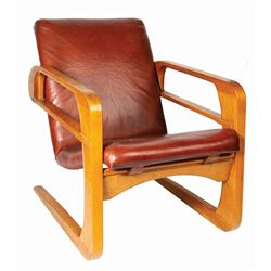 "Walt Disney Studios Kem Weber ""Airline"" Chair."