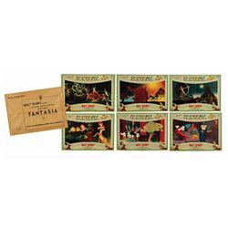 Collection of (6) Fantasia Italian Photobustas.