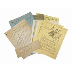 1941 Walt Disney Studios Animators' Strike Archive.