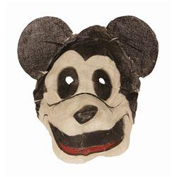 Mickey Mouse Gauze Mask.