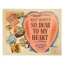 So Dear to My Heart Half-Sheet Poster.