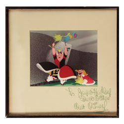 Alice in Wonderland Dye Transfer with Studio Signature.