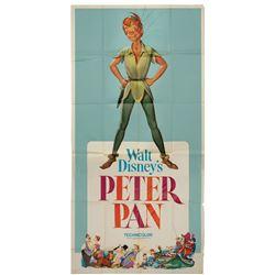 Peter Pan 3-Sheet Poster.