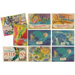 Collection of (8) Peter Pan Promotional Posters.