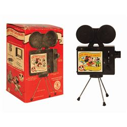 Mickey Mouse Club Newsreel Toy Slide Projector.