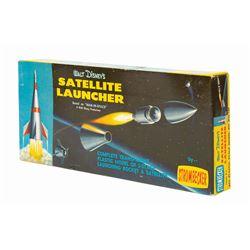Walt Disney's Satellite Launcher Model Kit.