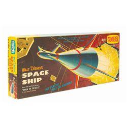 Walt Disney's Space Ship Model Rocket Kit.