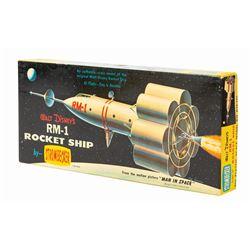 Walt Disney's RM-1 Rocket Ship Model Kit.