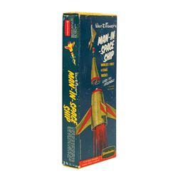 Walt Disney's Man-in-Space Ship Model Kit.