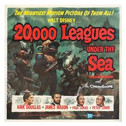 20,000 Leagues Under the Sea 6-Sheet.