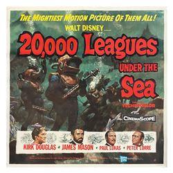 20,000 Leagues Under the Sea 6-Sheet.