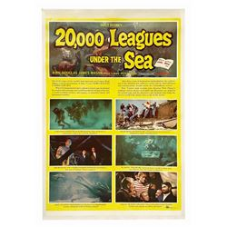20,000 Leagues Under the Sea One Sheet Poster.