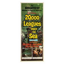 20,000 Leagues Under the Sea Insert Poster.