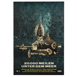 20,000 Leagues Under the Sea East German Poster.