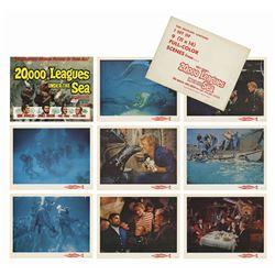 20,000 Leagues Under the Sea Lobby Cards.