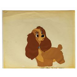 Lady and the Tramp Original Model Cel.