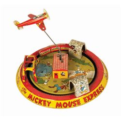 Mickey Mouse Express Wind-Up Tin Toy.