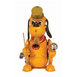 Pluto Wind-Up Tin Toy.