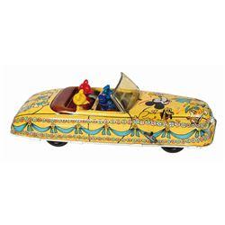 Disney Parade Car Wind-Up Tin Toy.