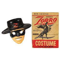 Ben Cooper Walt Disney Zorro Costume.