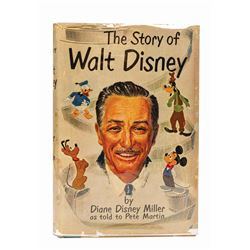 """The Story of Walt Disney"" Book Signed by Walt Disney."