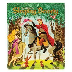 Marc Davis Signed Sleeping Beauty Book.